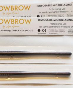 WOWBROW - microblading blades step 1 og 2