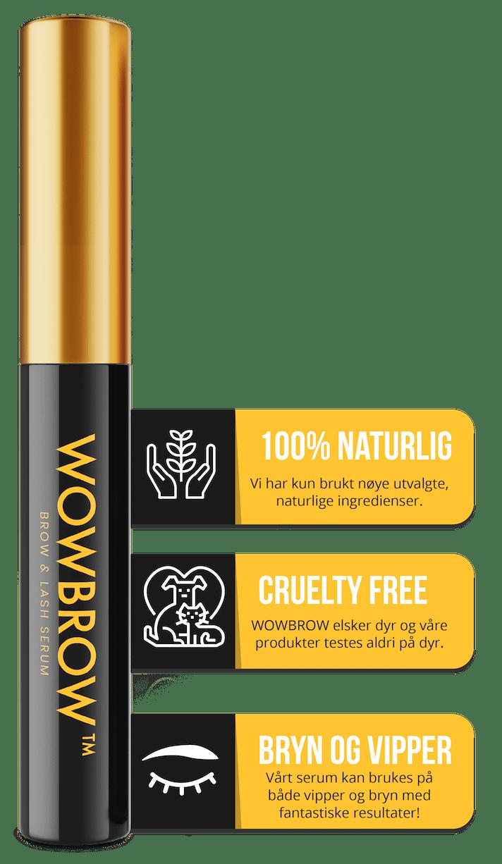 WOWBROW Bryn og vippe serum