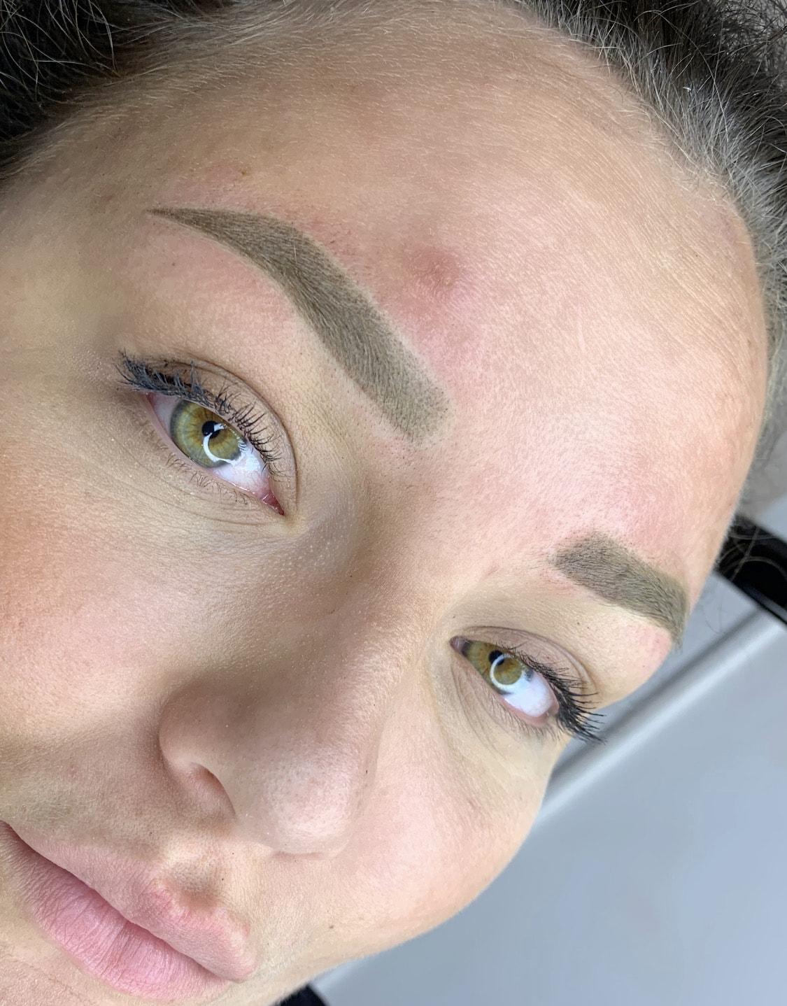 permanent makeup powder brows wowbrow