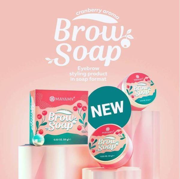 brow soap mayamy